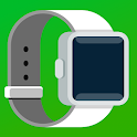 Smartwatch Bluetooth Notifier: sync watch & wear icon