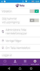 Telia Hemtelefoni screenshot 6