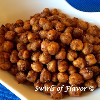 Roasted Chili Chick Peas.