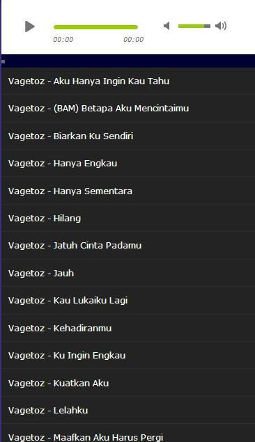 Lagu Vagetoz Hits Mp3 Apk 10 Download Free Entertainment