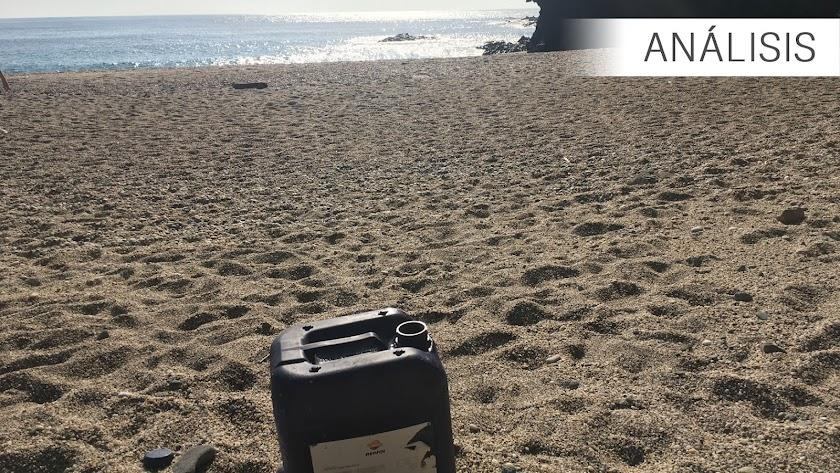 Imagen de archivo de la Playa de Los Muertos en Carboneras.