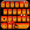 Keyboard Theme Led Halloween icon