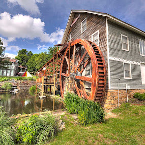 Historic Johnson Mill by Jay Stout - Buildings & Architecture Public & Historical
