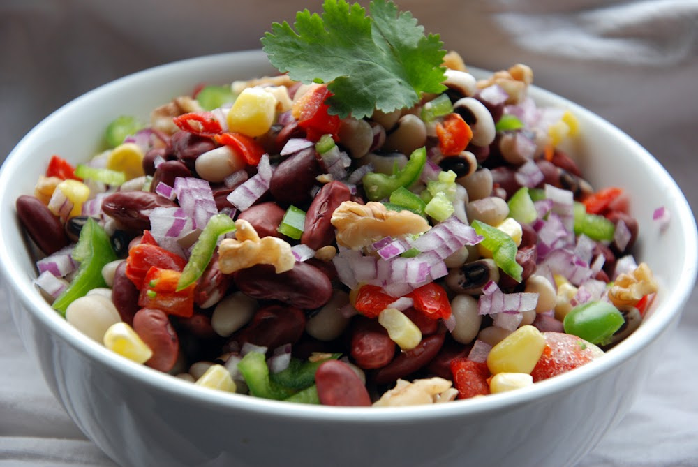 healthy-snacks-for-weight-loss-rajma-salad