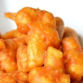 Spicy Cauliflower Fritters.