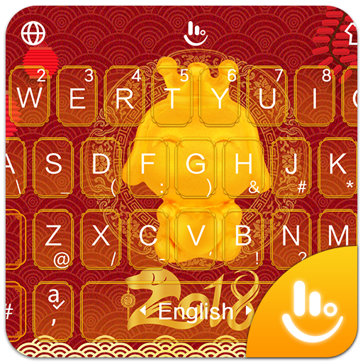 2018 Happy Chinese New Year Keyboard Theme Aplikace Na Google Play