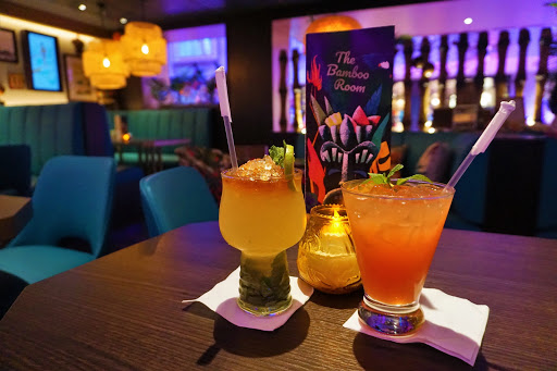 Mariner_Bamboo_Drinks.jpg - We couldn't get enough of the Polynesian-inspired drinks at our new favorite watering hole at sea, the Bamboo Room.