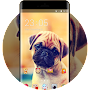 Cute Puppy Dog Live Wallpaper kawaii new icon pack APK icon
