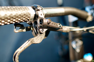 Photo: Spring Break for the Bike Industry with racing, rides, and an expo. XTR shifter.