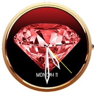 Diamond Animated 3D WatchFace- screenshot thumbnail