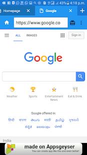 4G Browser Free - náhled