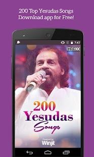 200 Top Yesudas Songs screenshot