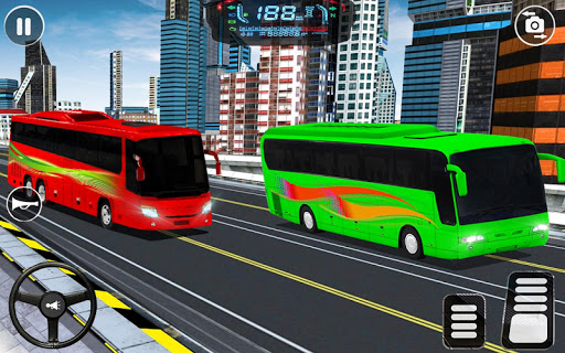 City Coach Bus Driving Simulator: Driving Games 3D android2mod screenshots 9