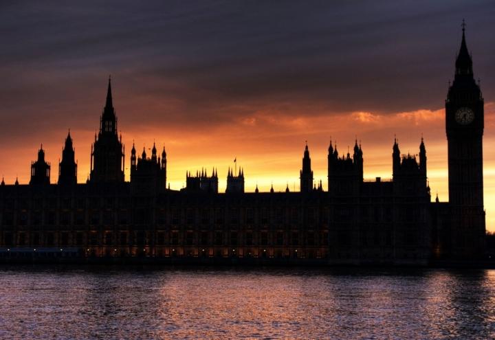 London on fire di stefanochiarelli