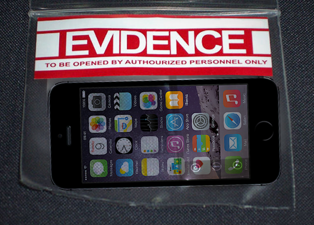 saving iPhone text messages for evidence or court by police or law enforcement