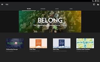 Screenshot of Fellowship Denver Church