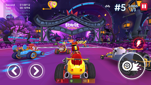 Starlit On Wheels: Super Kart APK MOD – Pièces de Monnaie Illimitées (Astuce) screenshots hack proof 2