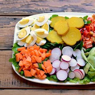 Vegetarian Chef's Salad.