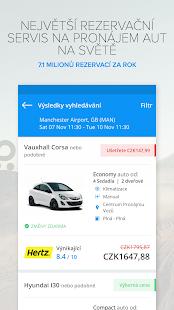 Rentalcars.com Car hire App - náhled