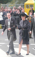 Photo: Prince Jean and Princess Philomena of France, Duke and Duchess of Vendôme