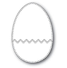 Memory Box Die - Cracked Up Egg