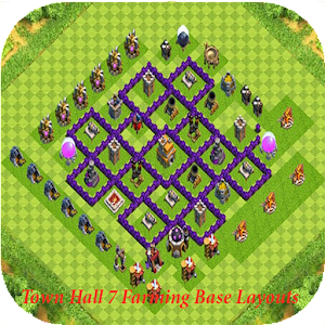Town Hall 7 Farming Base Layouts
