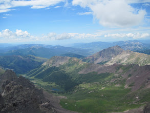 Photo: View from the top of Castle Peak
