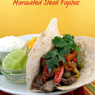 Marinated Steak Fajitas Recipe