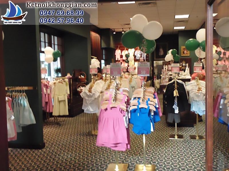thiết kế và sắp xếp cửa hàng chuẩn mực