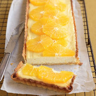 Orange, Labne And Honey Tart