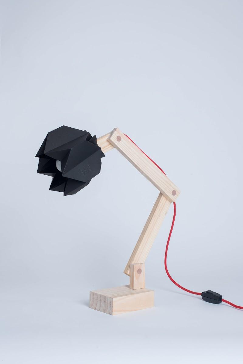 Lámparas hechas con papel - Moshi Moshi