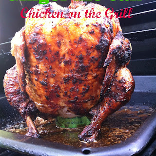 Ginger Ale Can Chicken on the Grill