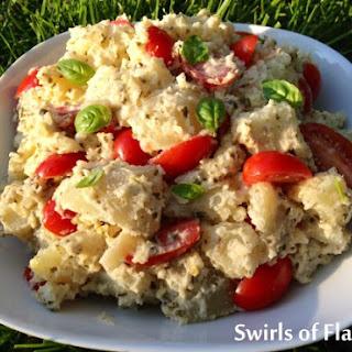 Creamy Pesto Potato Salad