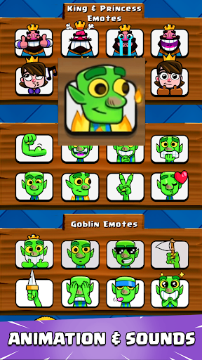 Emotes for Clash Royale 1.0.1 screenshots 2