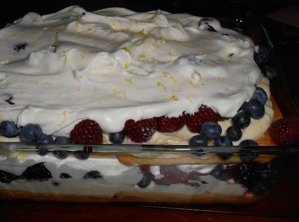 Lemon Berry Triffle Recipe