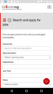 Gr8jobsng- screenshot thumbnail