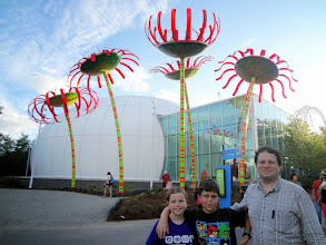 Photo: We just had a few hours in Seattle so we headed to the Seattle Center