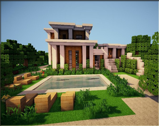 The idea of a modern home for minecraft 1.0 screenshots 7