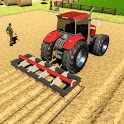 Real Tractor Driving Games- Tractor farming Games icon