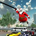 Crime City Simulator Santa Claus Rope Hero icon