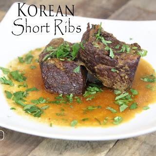 Korean Instant Pot Short Ribs