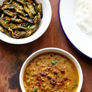 Whole Green Moong Dal Recipe - Punjabi Sabut Moong Dal