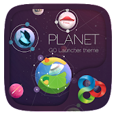 Planet GO Launcher Theme