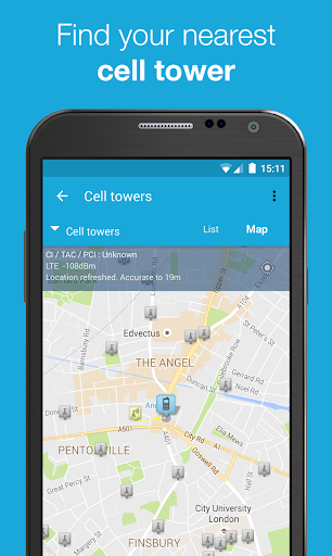 3G 4G WiFi Maps & Speed Test (OpenSignal) v5.08 build 138510