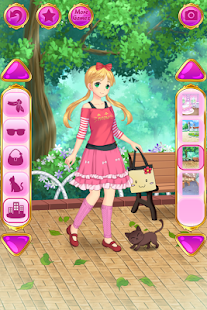 Anime Dress Up - Games For Girls Screenshot