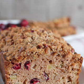 Apple Cranberry Bread.