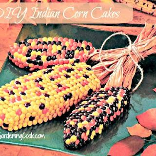 Indian Corn Cake Centerpiece