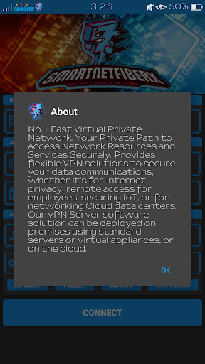 SmartNetFiberX VPN screenshot 7
