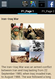 Iran–Iraq War History - náhled