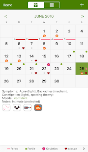 Period Tracker Deluxe- screenshot thumbnail